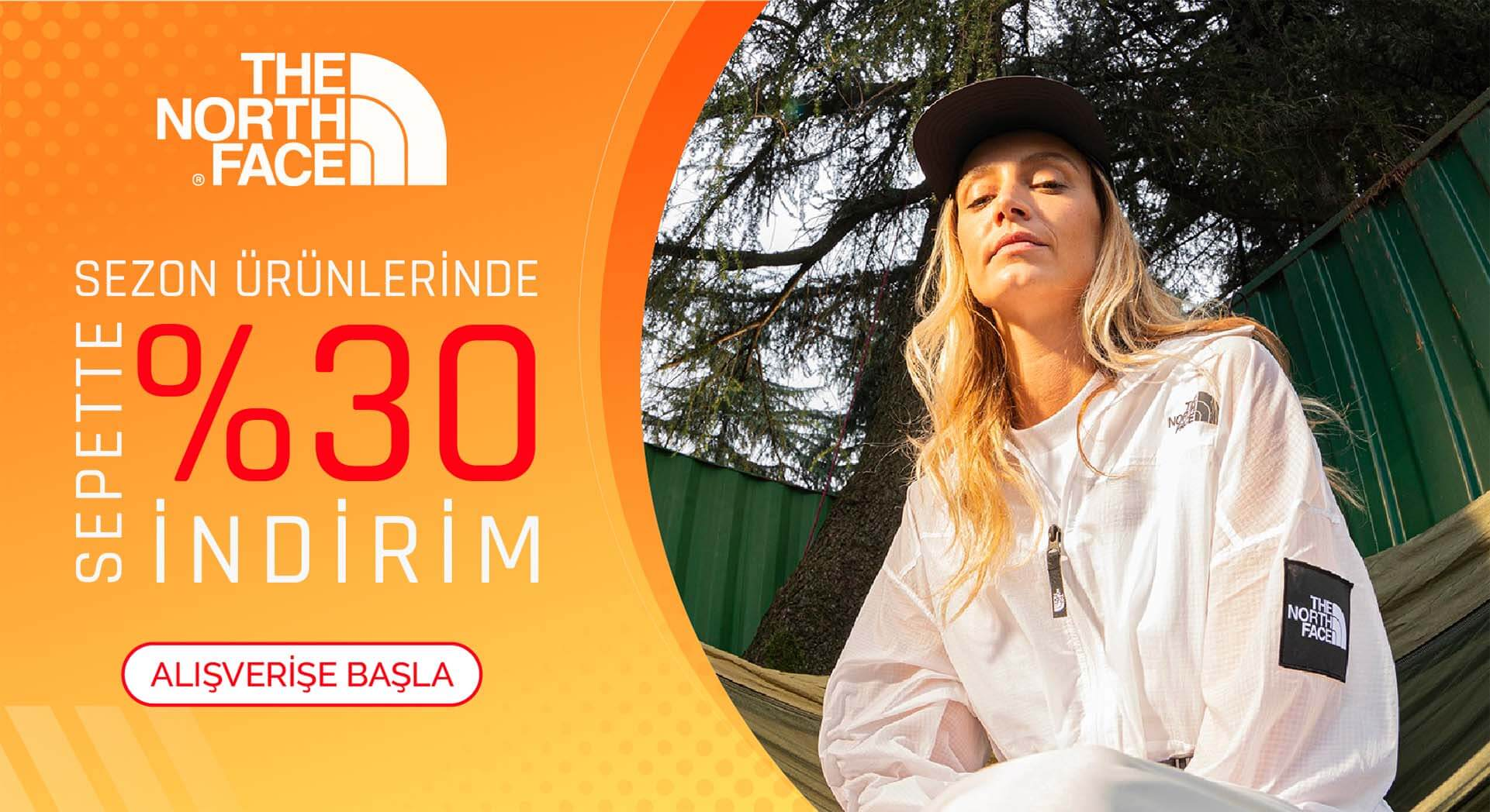The North Face Sepette %30 İndirim