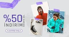 Zey Sport %50'ye Varan İndirim